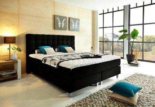 luxus boxspringbett von welcon 140x200 22 farben erh ltlich in h2 h3 h4 h2 h3 und h3 h4. Black Bedroom Furniture Sets. Home Design Ideas