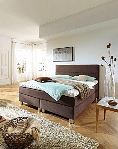 luxus boxspringbett rockstar 9cm topper welcon 180x200 64. Black Bedroom Furniture Sets. Home Design Ideas