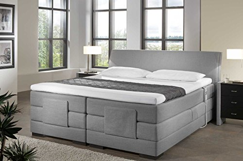 designer boxspringbett mailand elektrisch verstellbar made in germany tonnentaschenfederkern. Black Bedroom Furniture Sets. Home Design Ideas