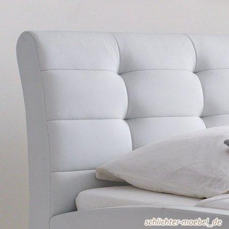 polsterbett celine 140x200cm wei boxspringbetten. Black Bedroom Furniture Sets. Home Design Ideas