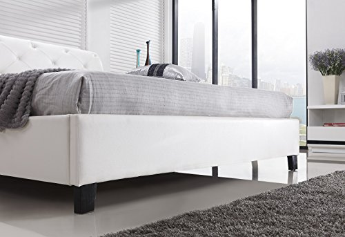 designer bett barock modern 160x200 cm 78 doppelbett 160x200 cm wei 5 boxspringbetten. Black Bedroom Furniture Sets. Home Design Ideas