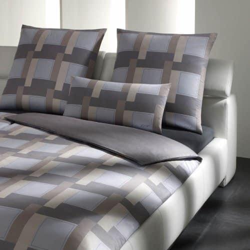 joop bettwaesche mako satin new squares betten online shop. Black Bedroom Furniture Sets. Home Design Ideas