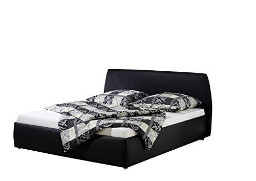 Maintal Betten 234960-4693 Polsterbett Minu 140 x 200 cm, Kunstleder