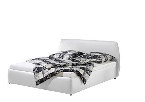 Maintal Betten 234960-4691 Polsterbett Minu 140 x 200 cm, Kunstleder