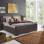 Breckle Boxspringbett 140 x 200 cm Lund Box Elektro Inspiration Hollanda TFK Topper Gel Comfort