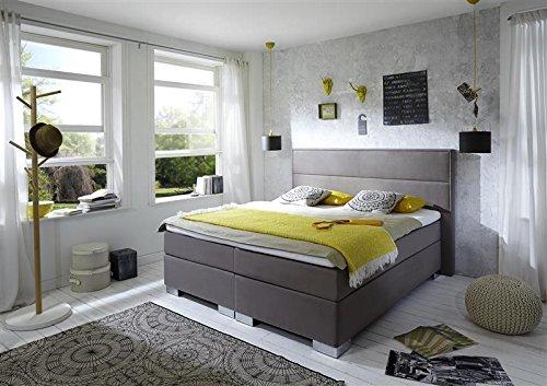 Breckle Boxspringbett 160 x 200 cm Castillo Box Born Formschaummatratze My Balance 20 Topper Gel Premium Comfort