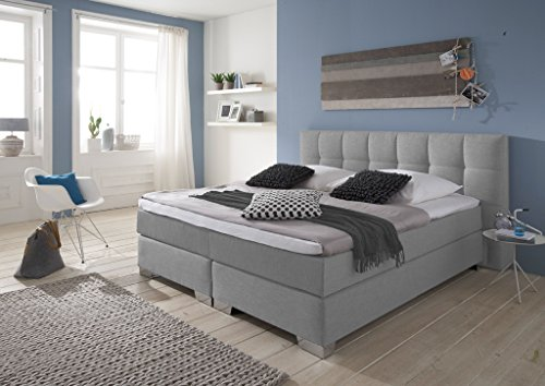 designer boxspringbett home made in germany tonnentaschenfederkern in der box und in der 7. Black Bedroom Furniture Sets. Home Design Ideas