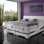 Breckle Boxspringbett 140 x 200 cm Oxford Box Born Formschaummatratze My Balance 20 Topper Gel Premium Comfort