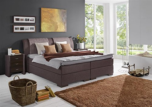 Breckle Boxspringbett 180 x 200 cm Lund Box Elektro Inspiration Hollanda TFK Topper Gel Comfort