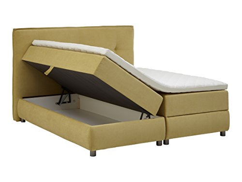 Atlantic Home Collection TILO Boxspringbett mit Bettkasten, Stoff