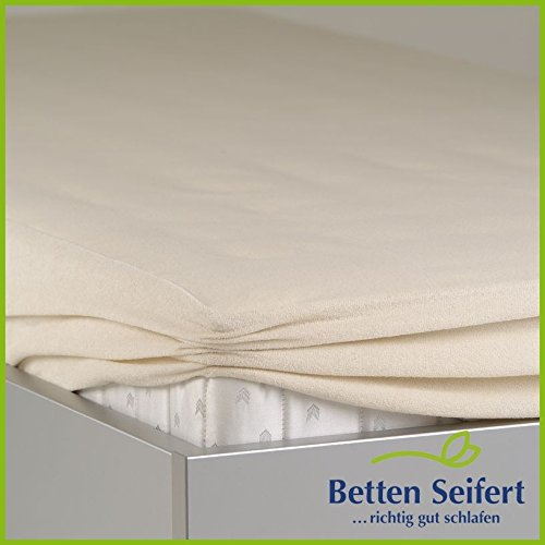 BNP Bed Care Matratzen-Spannbezug dream-top Schonbezug, beige, 80X190 CM