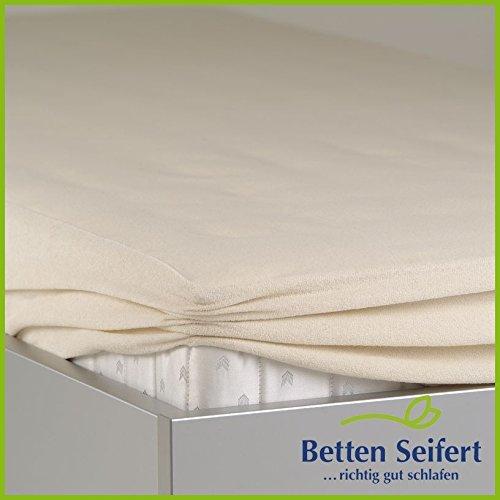 BNP Bed Care Matratzen-Spannbezug dream-top Schonbezug, beige, 80X190 CM