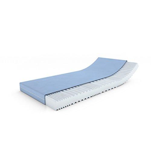MSS®VitalFoam®Wellness Matratze Memory Marken Kaltschaum / 80 x 190 cm / 7 Zonen