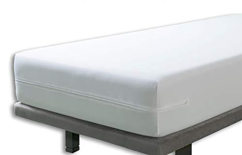 Velfont – Anti-Wanzen-Matratzenbezug, wasserdicht und atmungsaktiv – Matratzen-Höhe 15-30cm - verfügbar in verschiedenen Größen - 80x190/200cm