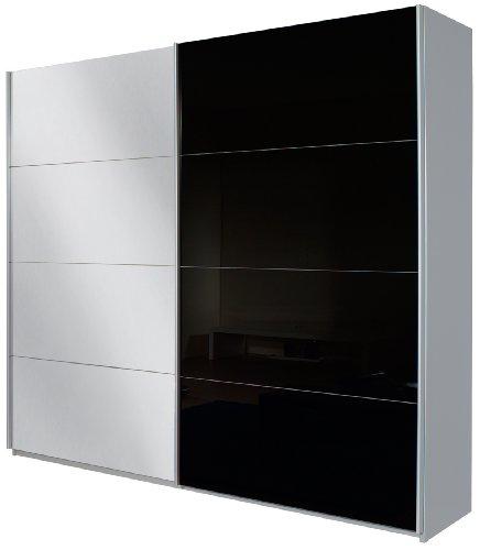 Rauch Schwebetürenschrank mit Spiegel 2-türig