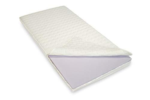 Bodyprint Plus - Gel-Schaum Topper Matratzenauflage - direkt vom BETTEN FACHGESCHÄFT - 8 cm Gesamthöhe Raumgewicht ca. RG 60 mit Klimaband und Stegkanten