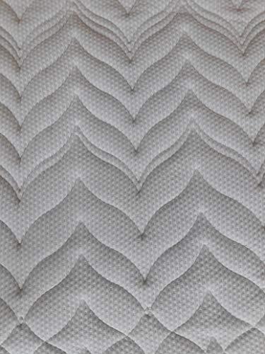 Gel-Schaum Topper Matratzenauflage für Matratzen & Boxspringbett - hohes RG50 - Bezug bis 60°C waschbar - Made in Germany