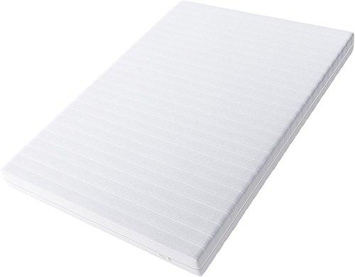 Hilding Sweden Essentials Schaumstoffmatratze in Weiß