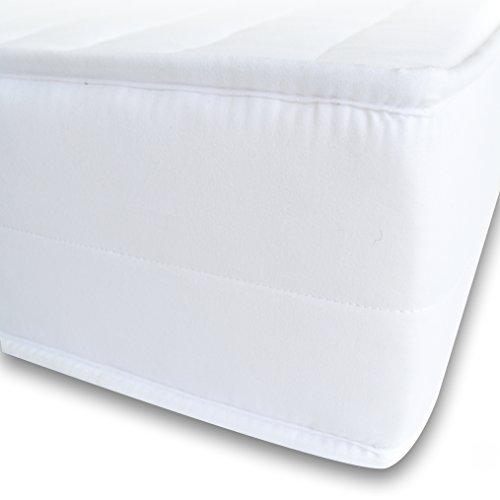 Mister Sandman orthopädische 7-Zonen-Matratze aus Kaltschaum für besseren Schlaf – Kaltschaummatratze H2&H3 mit Liegezonen, abnehmbarem Mikrofaserbezug, Höhe 15cm,