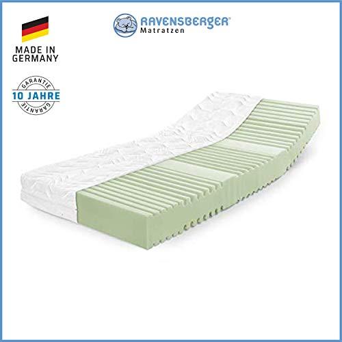RAVENSBERGER Orthopädische | 7-Zonen-HYBRID-Kaltschaumkomfortmatratze | Härtegrade H2, H3, H4 | Größen 90 x 200 cm bis 180 x 220 cm verfügbar