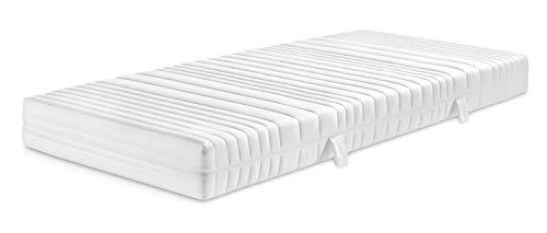 Traumnacht Basis 7-Zonen Komfortschaummatratze mit 3D Konturenschnitt für alle Schlaftypen, Härtegrad 3